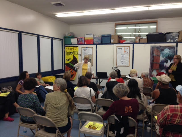General meeting at Azalea Park Rec Center