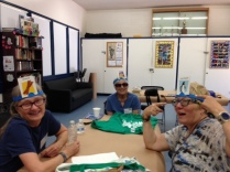 Silly fun at drop-in social 2015